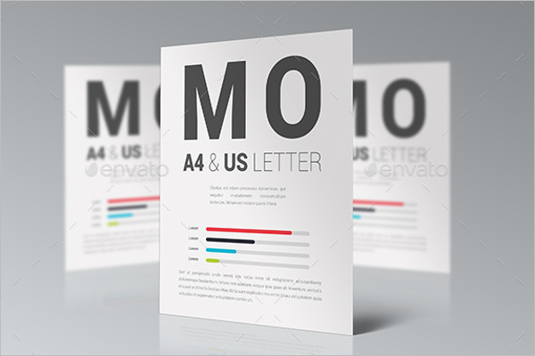 Photoshop A4 Flyer Mockup Design