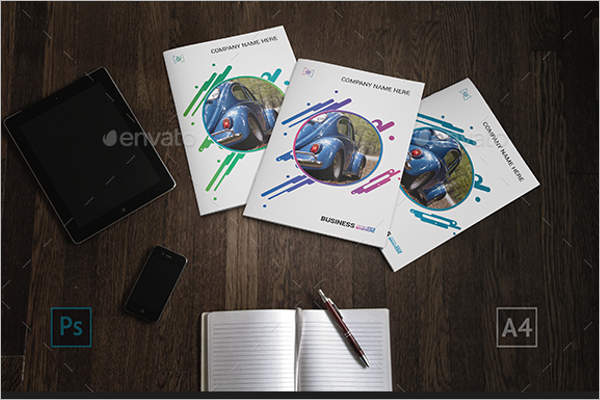 Photoshop Bifold Brochure Template