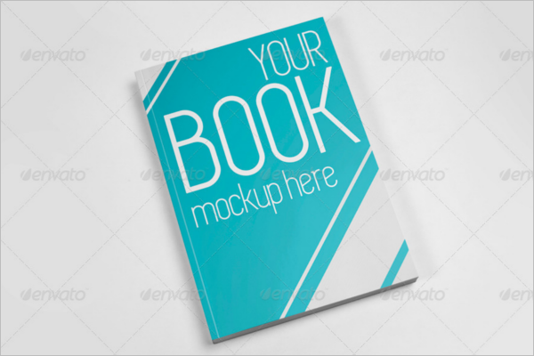 Photoshop Book Cover Mockup Design