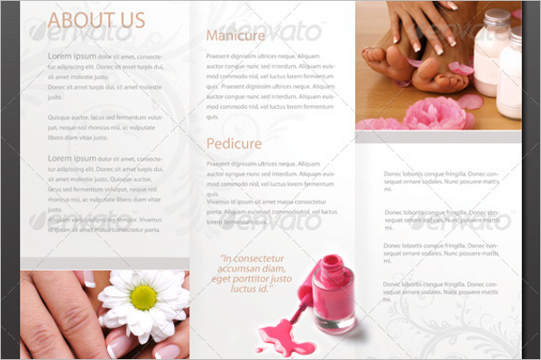 Photoshop Cosmetic Brochure Template