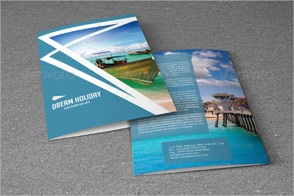 Photoshop Holiday Brochure Template