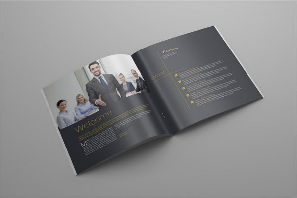 Photoshop PSD Brochure