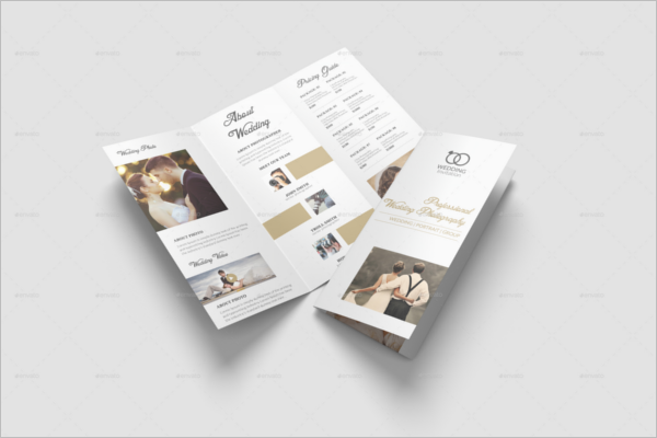 Photoshop Wedding Brochure Template