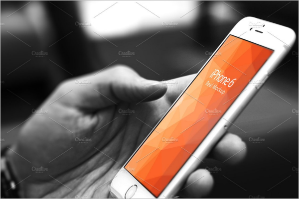 Photoshop iPhone Mockup Design
