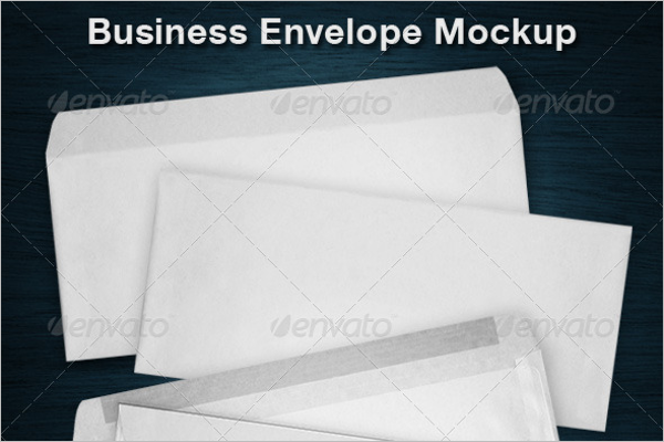 Plan Envelope Mockup