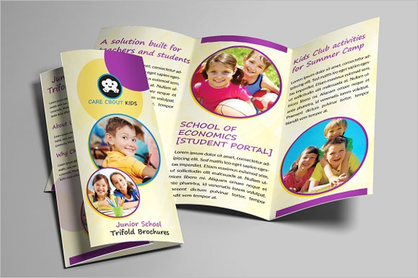 Play Group Brochure Design