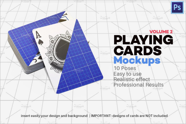 Playing Card Club Mockup