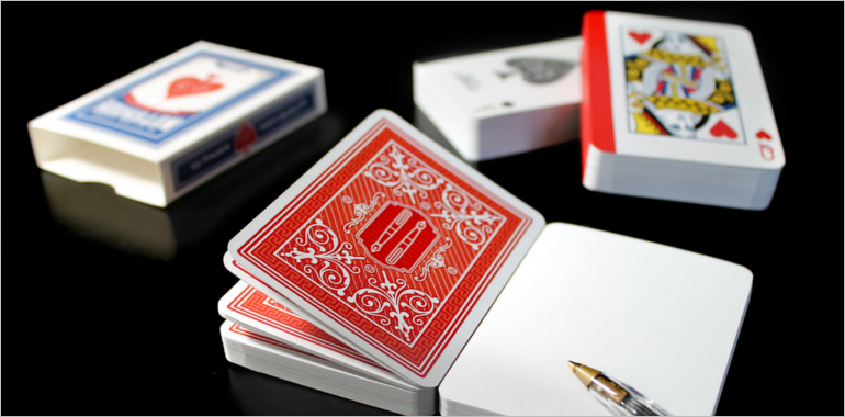 Playing Card Mockups
