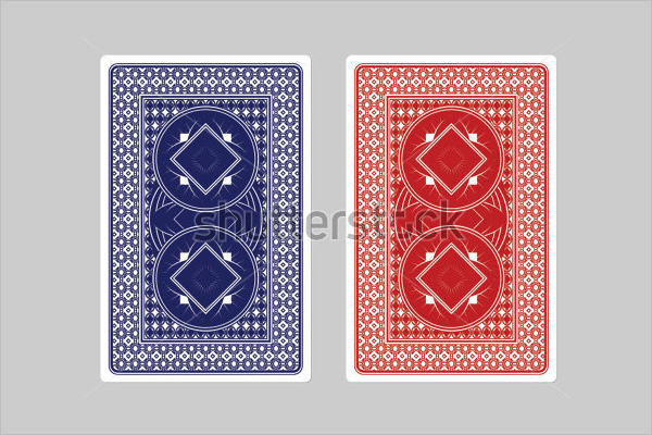 Playing Card Patern Mockup
