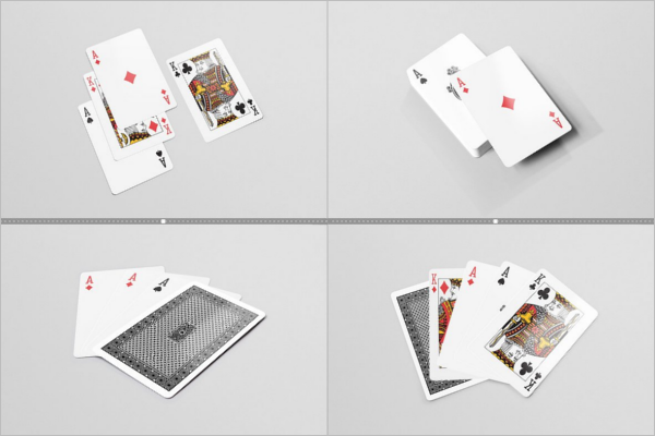 Playing Card Product Mockup