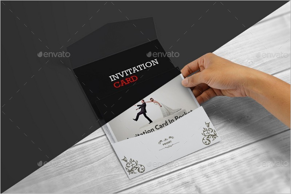 Pocket Envelope Mockup