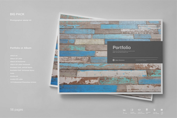 Portfolio PitchPack Brochure Template