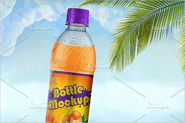 Premium Bottle Mockup Template