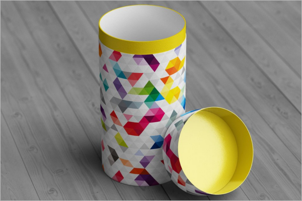 Printable Can Mockup Template