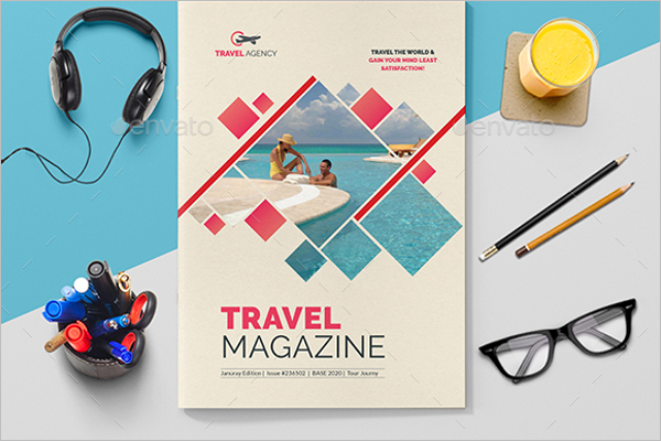 Printable Magazine Brochure Design