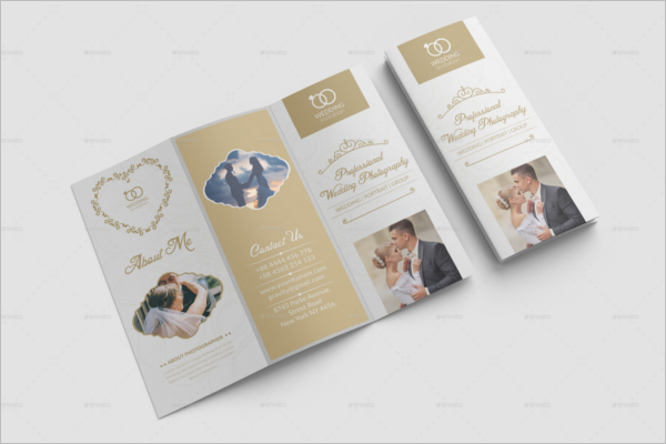 Printable Wedding Brochure Template