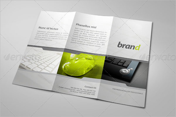 Professional PSD Brochure Template
