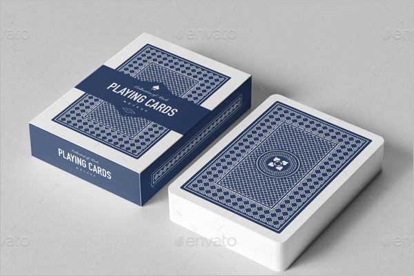 Professional Playing Card Mockup