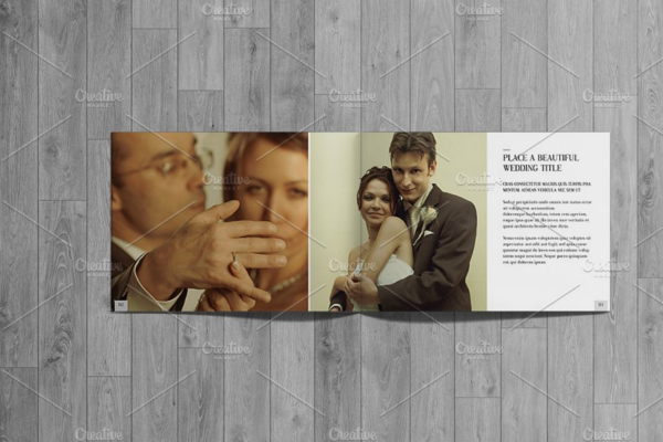 Professional Wedding Photographer Brochure