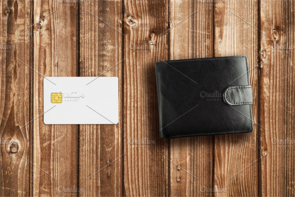 Purchase Credit Card Mockup
