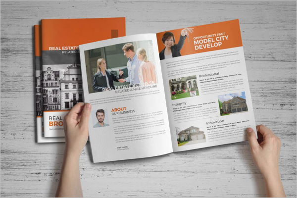 Real Estate Brochure PDF Template