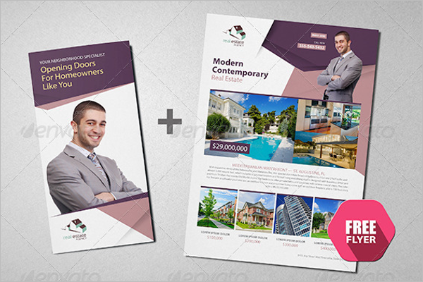 Real Estate Brochure Template model