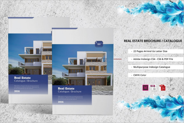 Real Estate Catalogue Brochure Template
