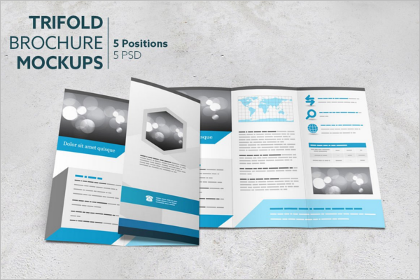 Realistic Brochure Template
