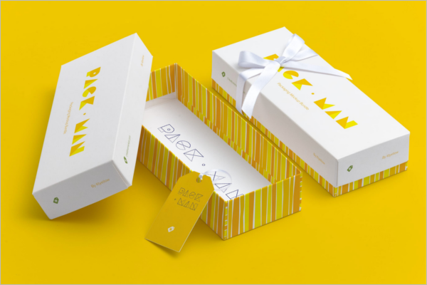 Rectangular Gift Box Mockup
