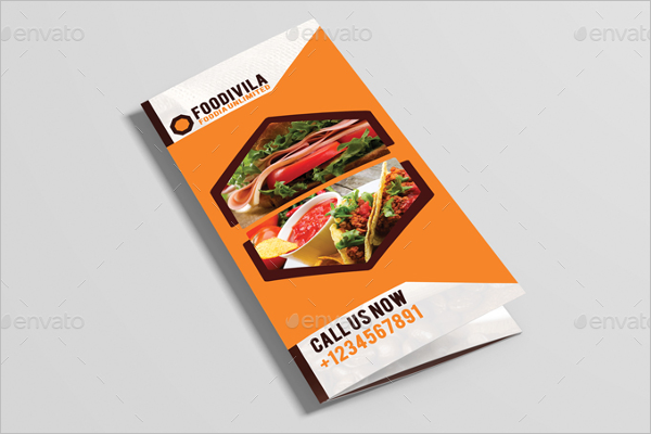 Restaurant Brochure Example