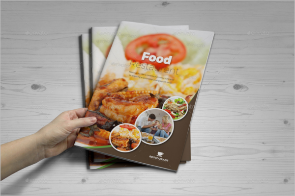 Restaurant Indesign Brochure