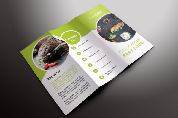 Salad Restaurant Brochure