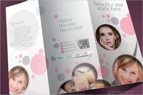 Salon A4 Brochure Design