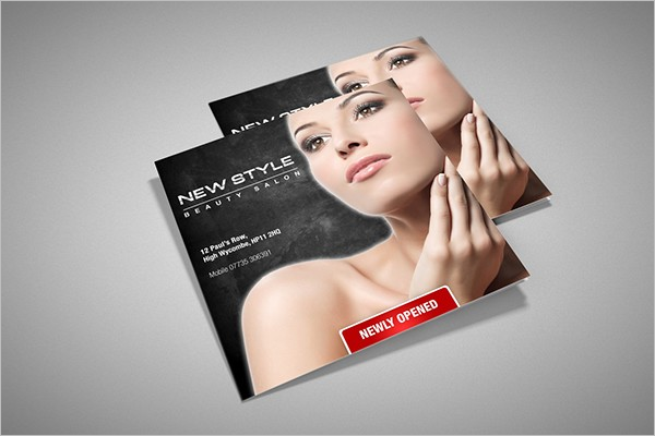 Salon Brochure Design Idea
