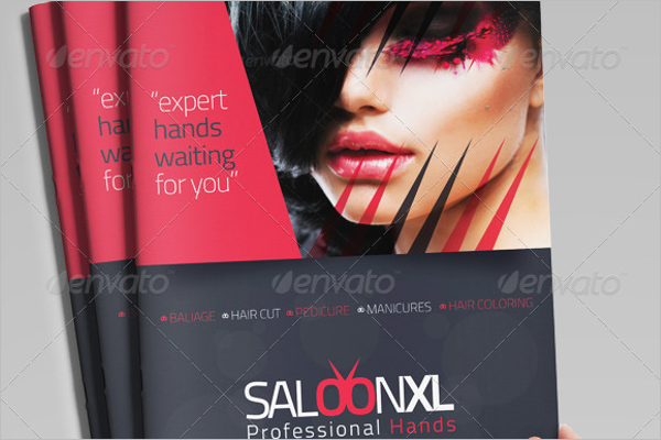 Salon Brochure Idea