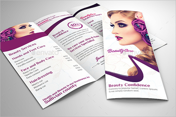 34 Sample Salon Brochure Templates Free Design Ideas Examples
