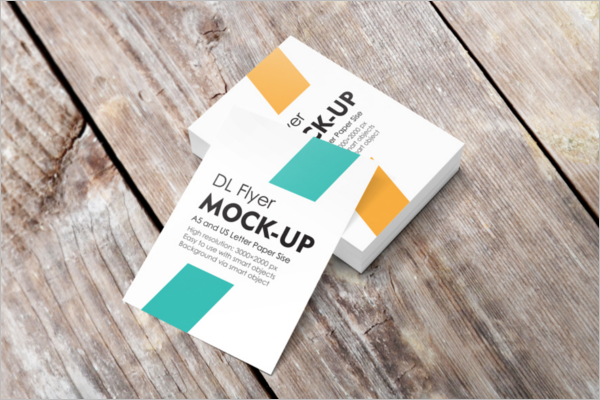Sample A4 Flyer Mockup