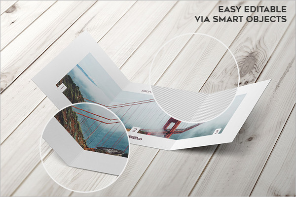 Sample Brochure Mockup