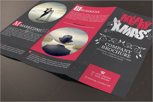 Sample Christmas brochure Design