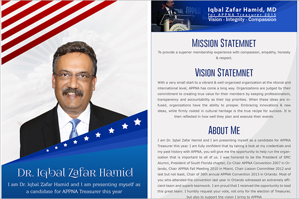 Sample Election Brochure