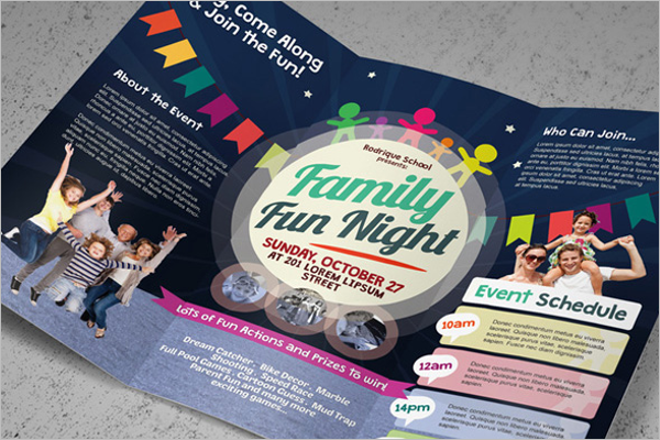 Sample Event Brochure Free PSD