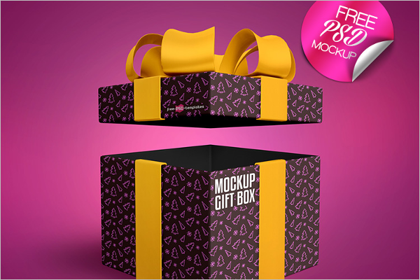 Sample Gift Mockup Template