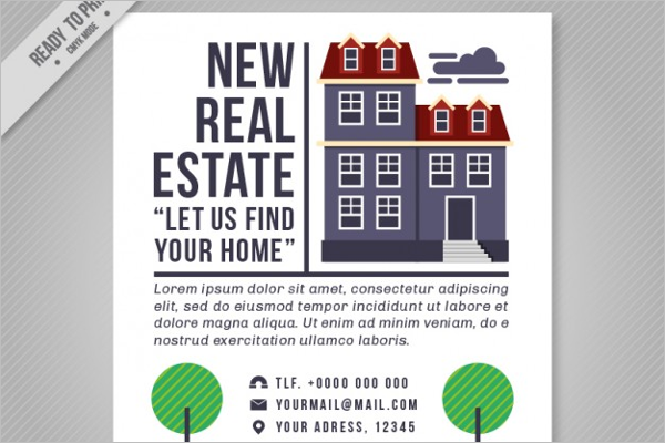 Sample Real Estate Brochure Template