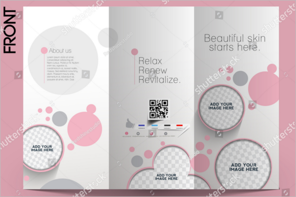 Sample Salon Brochure Design