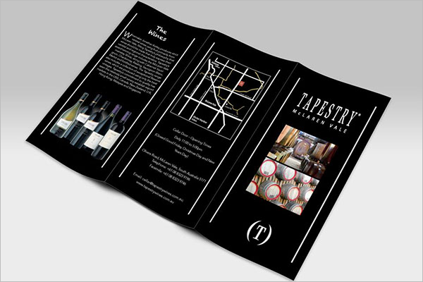 Sample Wine Brochure Design