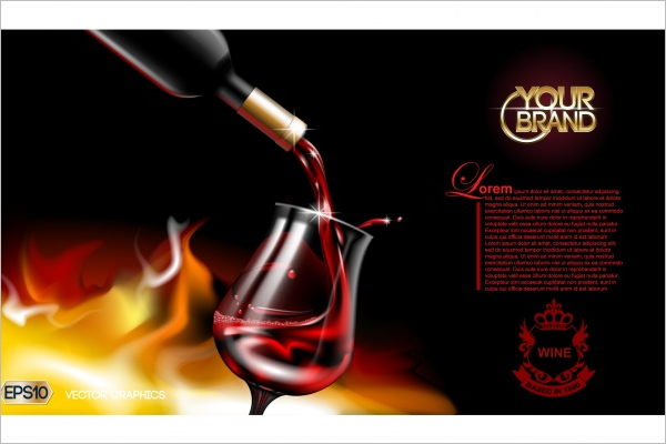 Sample Wine Brochure