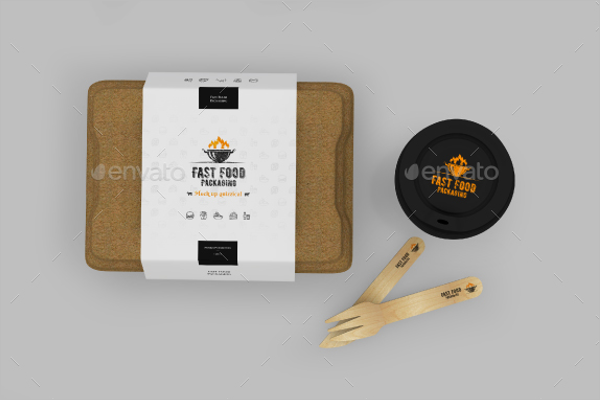 Sandwich Packing Mockup