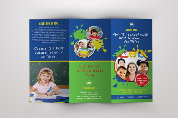 School Advertising Brochure