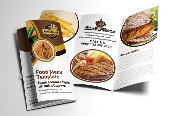 Sea Restaurant Brochure