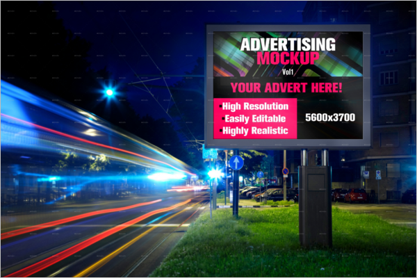 Simple Billboard Mockup